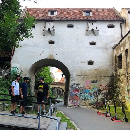 Graft Bastion from medieval Brasov
