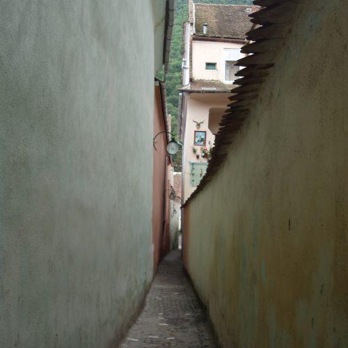 rope street in brasov