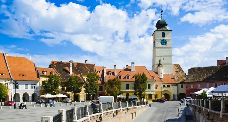 Sibiu Old Town.