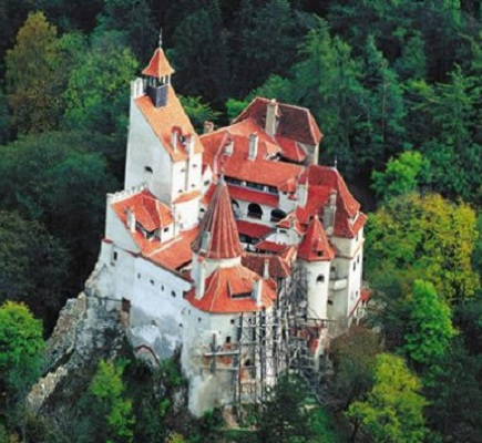 The Bran Castle also known as Dracula Castle.