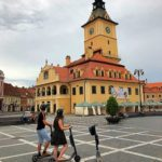 eScooter Tour in Brasov Council Square