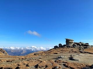 Bucegi plateau landscape